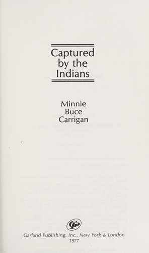 Download Captured by the Indians
