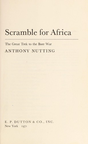 Download Scramble for Africa
