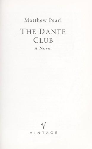 Download The Dante Club