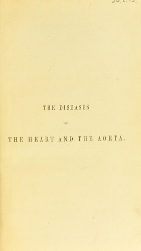 Download The diseases of the heart and the aorta.