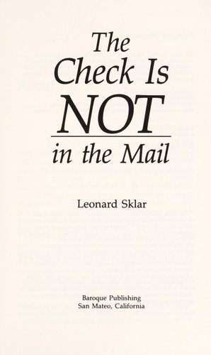 Download The check is not in the mail