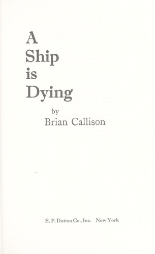 Download A ship is dying