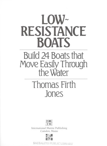 Low resistance boats