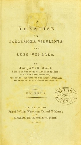 Download A treatise on gonorrhoea virulenta and lues venerea