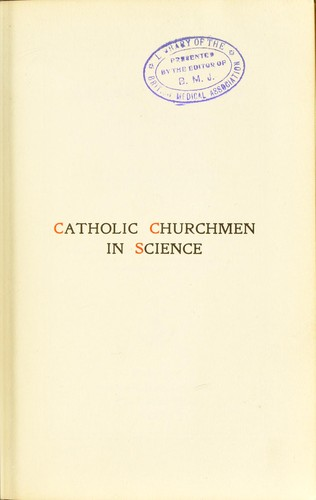Download Catholic churchmen in science