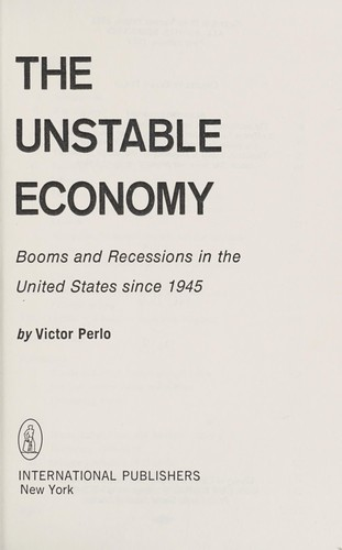 Download The unstable economy