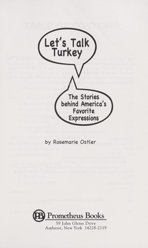 Download Let's talk turkey