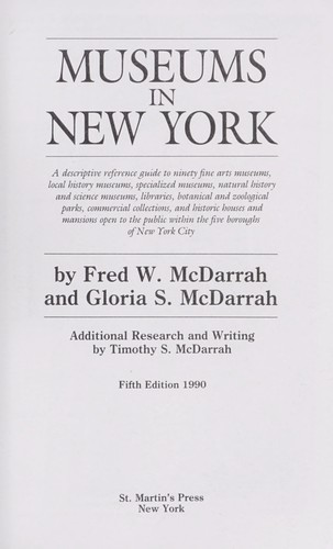 Download Museums in New York