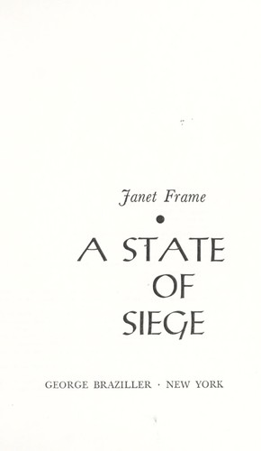 A state of siege.