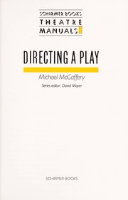Directing a play