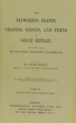 Download The flowering plants, grasses, sedges, and ferns of Great Britain