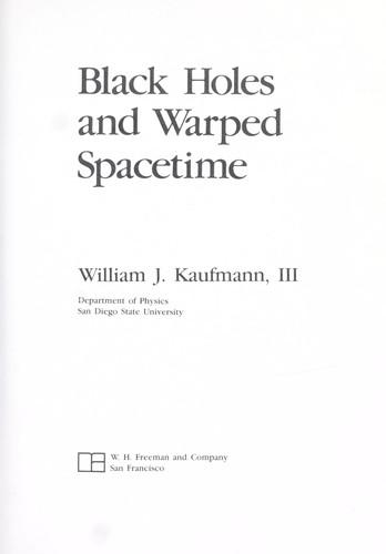 Download Black holes and warped spacetime