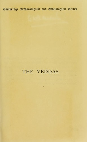 Download The Veddas