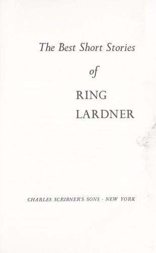Download Best Short Stories of Ring Lardner