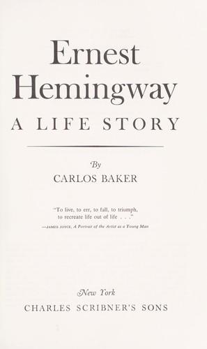 Download Ernest Hemingway: a life story
