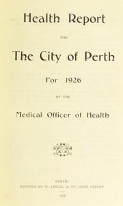 [Report 1926]