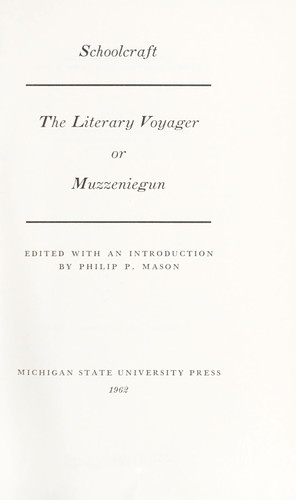 Download The literary voyager, or, Muzzeniegun