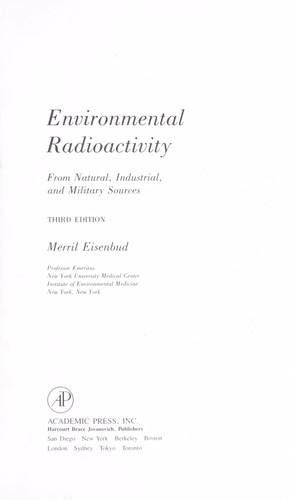Environmental radioactivity