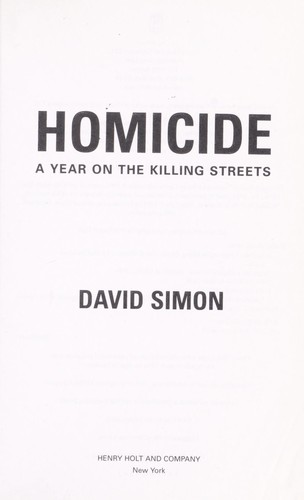 Download Homicide