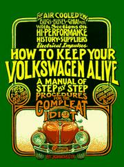 How to keep your Volkswagen alive by Muir, John