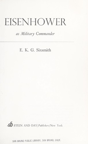 Download Eisenhower as military commander
