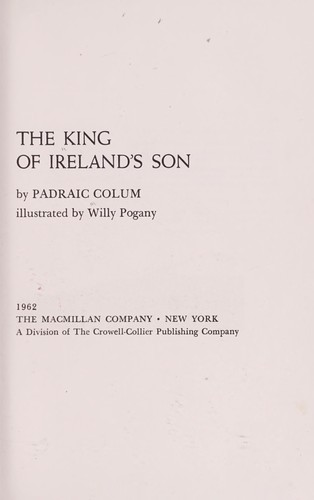 The King of Ireland's son.