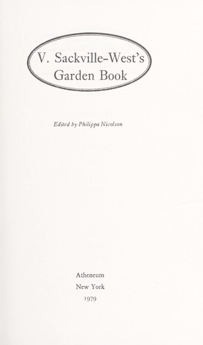 Download V. Sackville-West's garden book