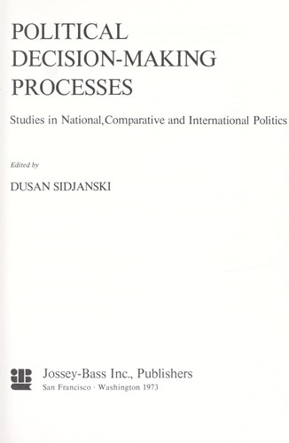 Download Political decision-making processes