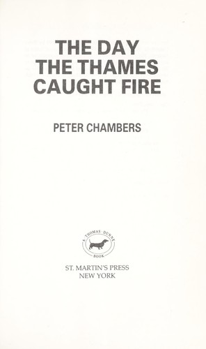 The day the Thames caught fire