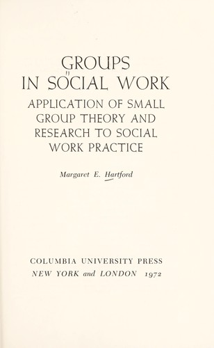 Download Groups in social work