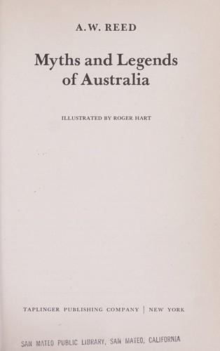 Download Myths and legends of Australia