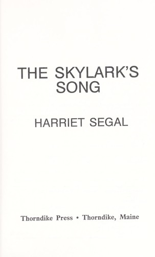 Download The skylark's song