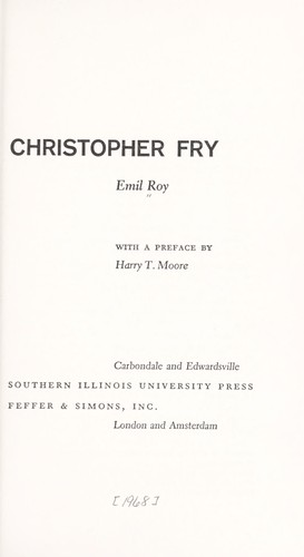 Christopher Fry.
