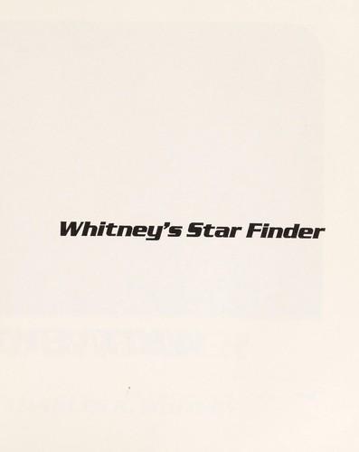 Whitney's Star finder