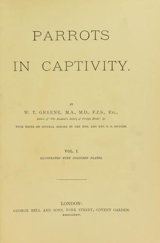 Parrots in captivity