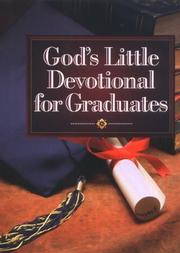 Gods little devotional book for graduates
