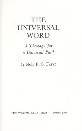 Download The universal word