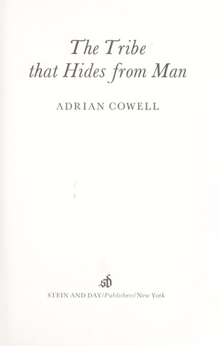 Download The tribe that hides from man.