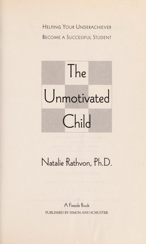 The unmotivated child