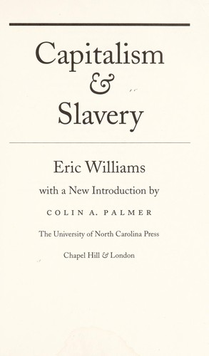 Download Capitalism & slavery.