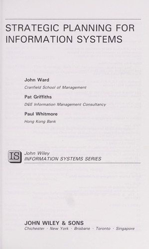 Download Strategic planning for information systems