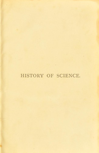 A popular history of science