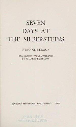 Seven days at the Silbersteins.