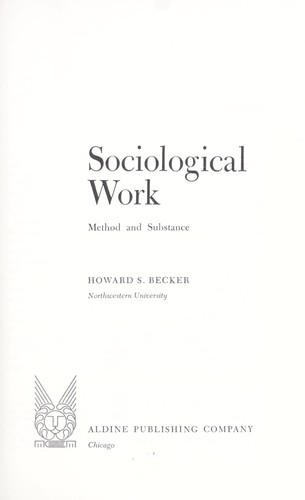 Sociological work