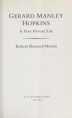 Download Gerard Manley Hopkins