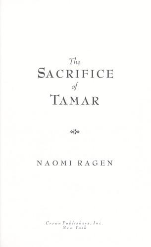 Download The sacrifice of Tamar