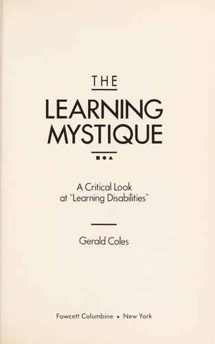 Download The learning mystique