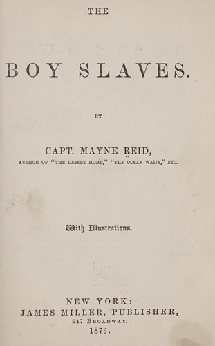 The boy slaves.