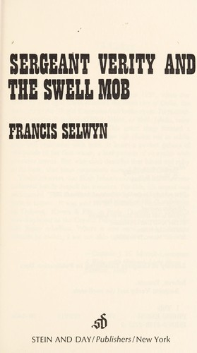 Download Sergeant Verity and the swell mob