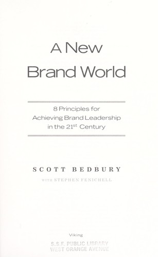 Download A new brand world